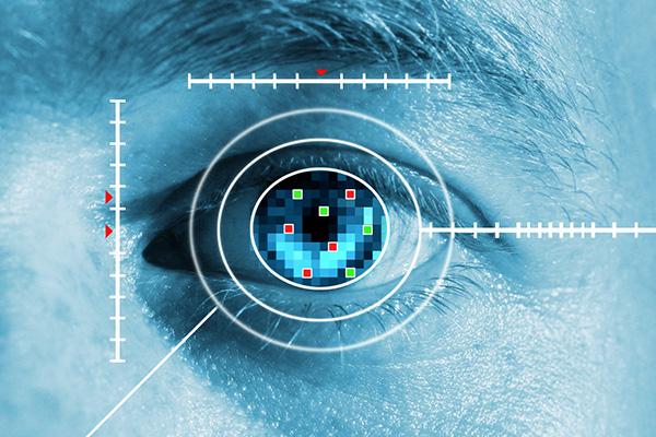 Photo of Man with Digital Eye