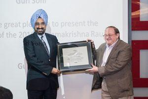 2016 Rau Award Presentation to Gurindar Sohi
