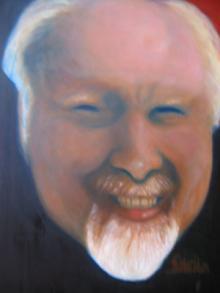Hans Karlsson Painting by Sheila Halligan-Waltz