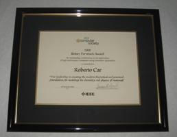 2009 Sidney Fernbach Award for Roberto Car