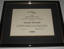 2009 Sidney Fernbach Award for Michele Parrinello
