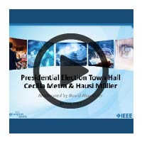 Learning Webinar Presentation Cover: Presidential Town Hall 2017