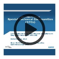 Learning Webinar Presentation Cover: Special Technical Communities (STCs)