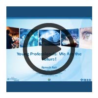 Learning Webinar Presentation Cover: Young Professionals
