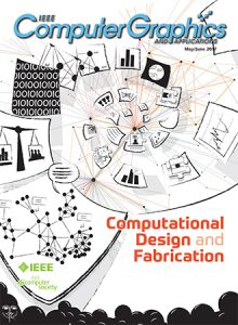 May/June 2017 IEEE Computer Graphics and Applications magazine cover