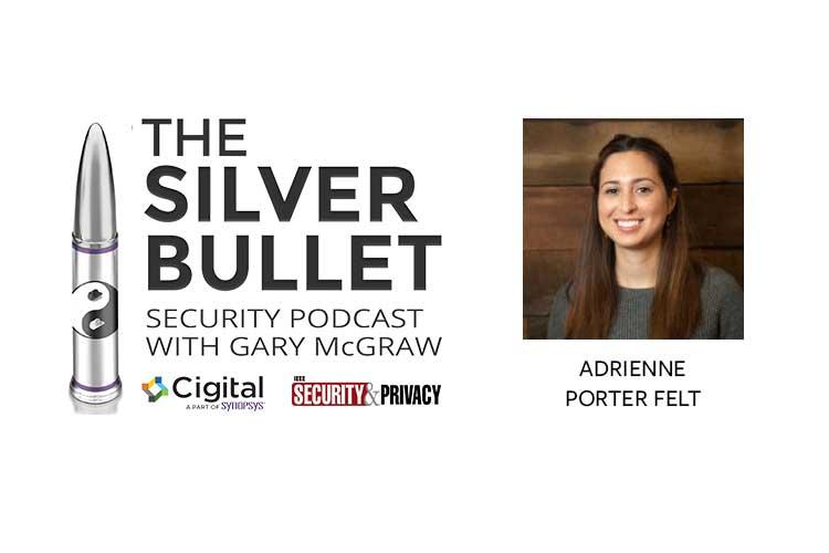 Adrienne Porter Felt and Silver Bullet logo