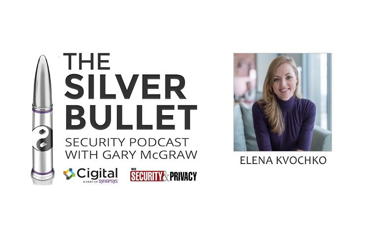Elena Kvochko and Silver Bullet logo