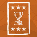 trophy poster icon