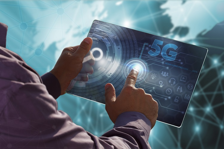 Interacting with high-tech tablet with 5G