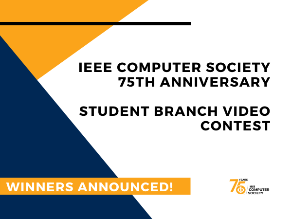 Student Branch Video Contest - Results are in!