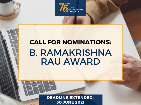 Call for Nominations: B. Ramakrishna Rau Award