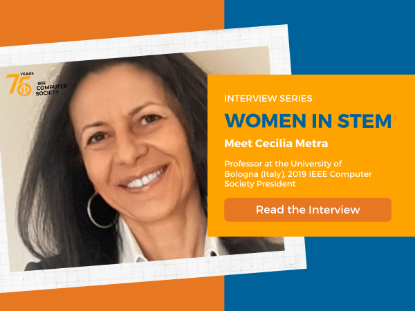 Women in STEM with Cecilia Metra