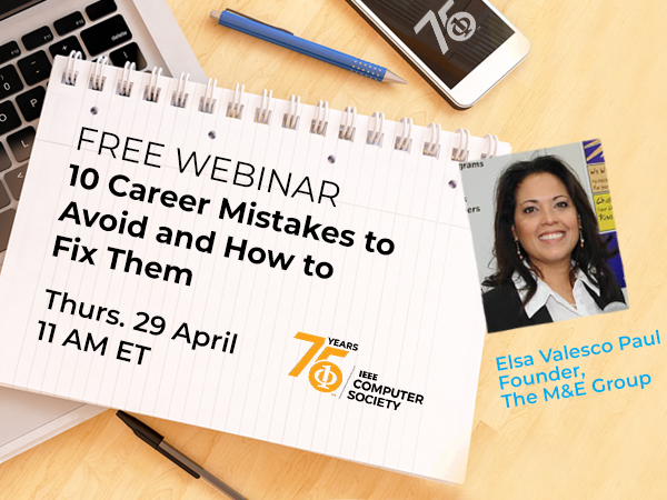 Webinar: 10 Career Mistakes to Avoid and How to Fix Them