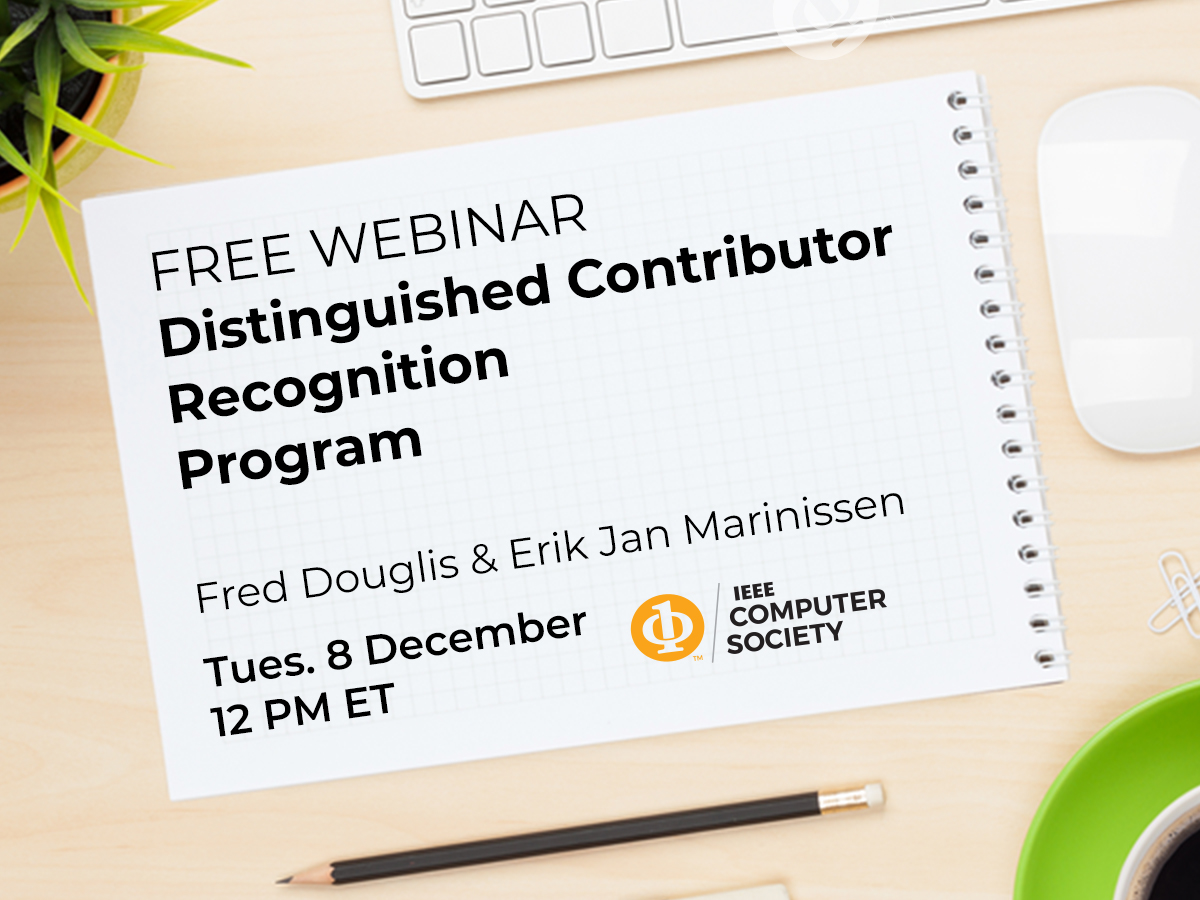 Distinguished Contributor Recognition Program Webinar