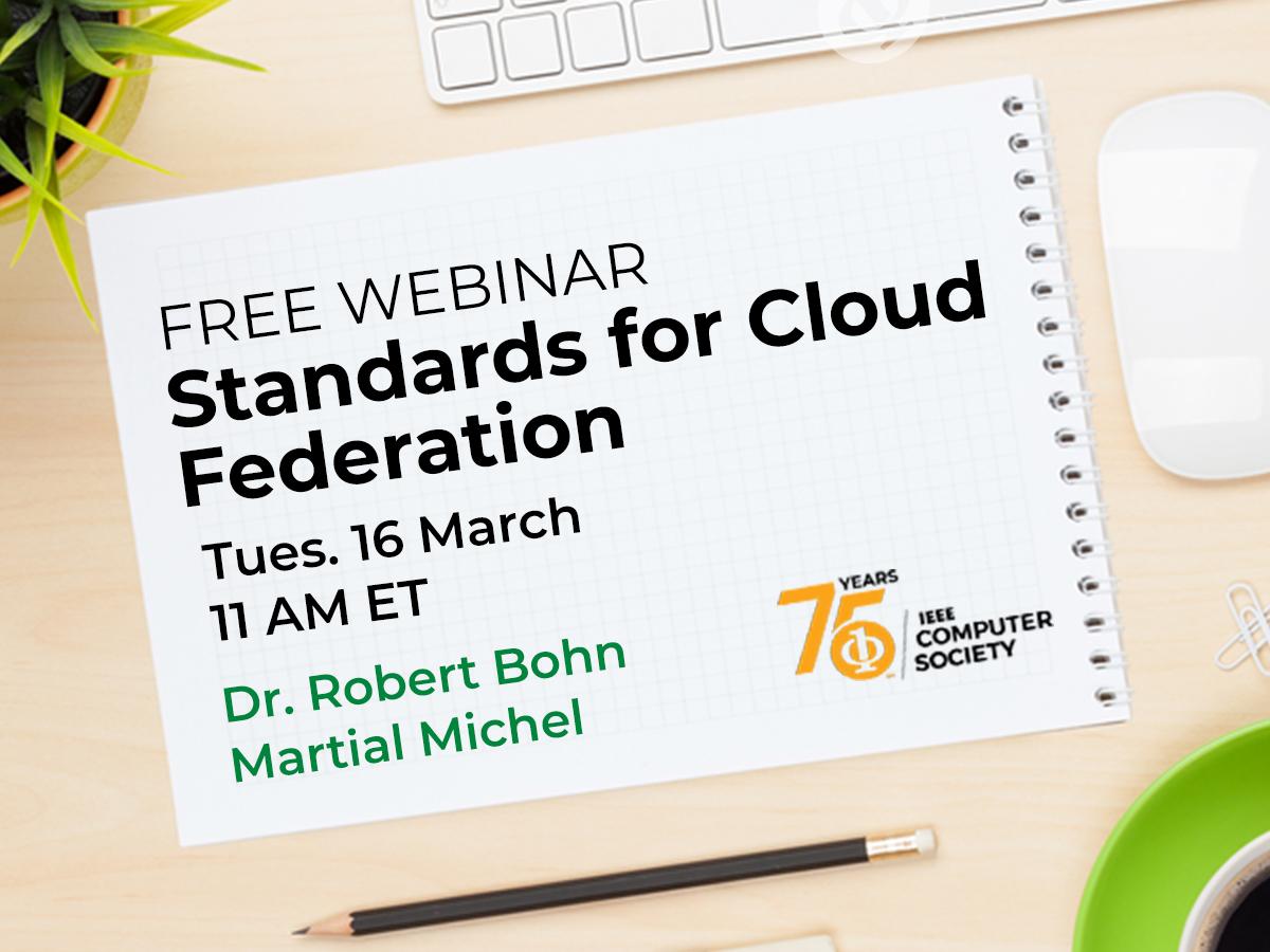 Webinar: Standards for Cloud Federation