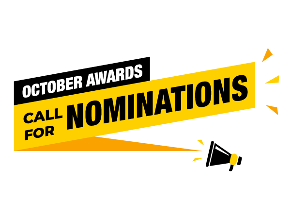 October 2020 Awards and Nominations