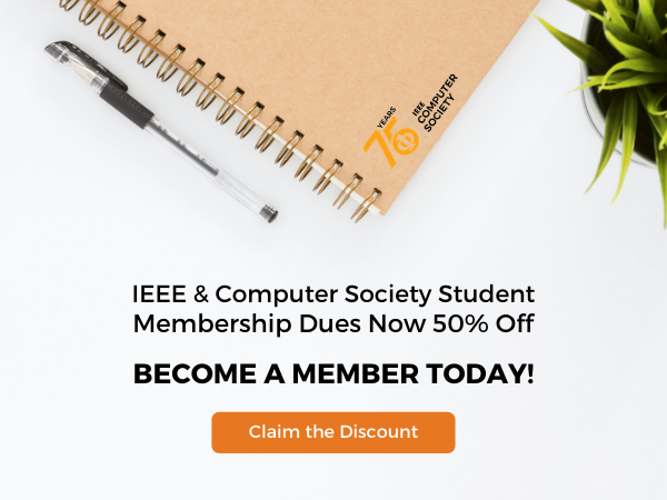 Student Membership Dues Now 50% Off