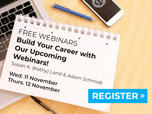 Upcoming Build Your Career Webinars