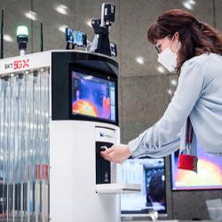 SK Telecom Covid-19 Robot