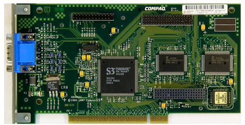 s3virg3 graphics board