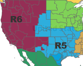 regions 5 and 6